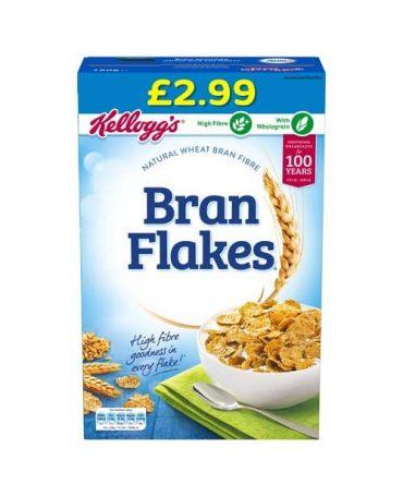 Kellogg's Bran Flakes 750g FL £2.99