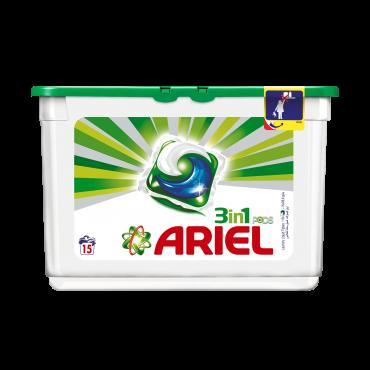 Ariel Liquid Tabs 15's PK3