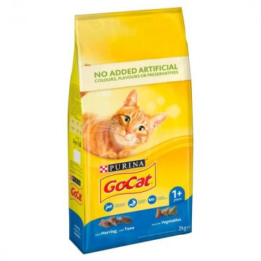 Go Cat Herring, Tuna & Vegetable 2kg PK4