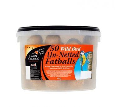 Dawn Chorus Fat Ball Bucket 50′ 4kg PK1